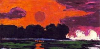 Sole tropicale, uno dei paesaggi più celebri di Emil Nolde