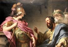 Alcibiade e Socrate di François-André Vincent