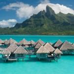 Alcuni splendidi paesaggi di Bora Bora