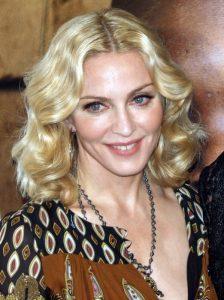 Madonna, cantante che ha trovato il suo primo grande successo negli anni '80 (foto di David Shankbone via Wikimedia Commons)