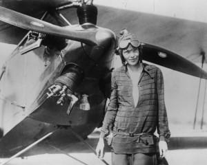 Amelia Earhart nel 1928