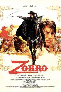 Alain Delon nella parte di Zorro