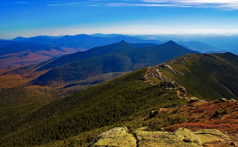 Le White Mountains in New Hampshire