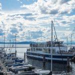 Il lago Champlain, in Vermont