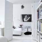 Living room che è un chiaro esempio dei dettami dell'arredamento nordico