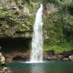 Cascata nell'isola di Taveuni
