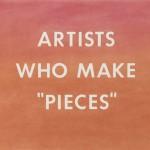 "Artists Who Make ""Pieces"" di Ed Ruscha"