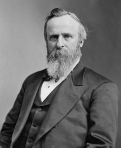 Rutherford B. Hayes, ventitreesimo presidente grazie ad un solo voto di scarto