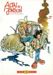 Una raccolta delle storie di Altai & Jonson