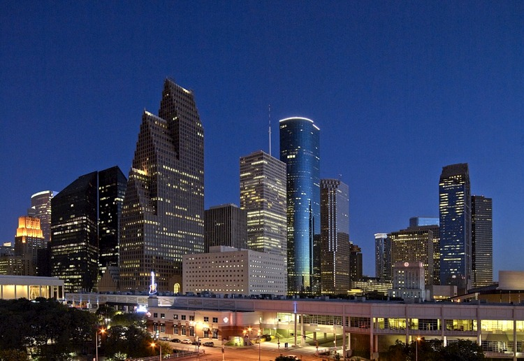 Skyline di Houston