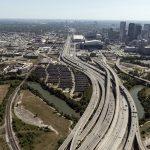 La complessa rete stradale di Houston