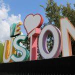 La scritta We Love Houston, inaugurata nel 2011 ma già diventata meta turistica