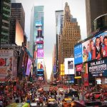 Times Square a New York, una delle città più visitate al mondo
