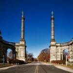 Il monumento ai caduti di Philadelphia