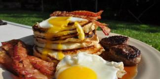 Una delle più classiche colazioni all'americana