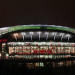 L'Emirates di notte