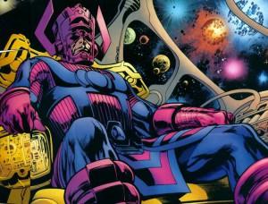 Galactus, forse il più famoso tra i personaggi Marvel più potenti dell'universo