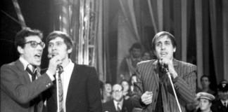 Gianni Morandi, Adriano Celentano ed Enzo Jannacci alla fine degli anni '60