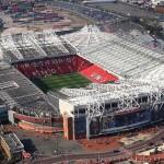 L'Old Trafford dall'alto