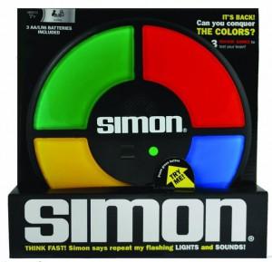 Simon, uno dei giocattoli di culto degli anni '80