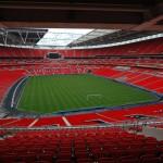 Lo stadio di Wembley, il tempio del calcio inglese