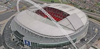 Wembley dall'alto