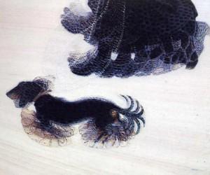 Dinamismo di un cane al guinzaglio, celebre quadro di Giacomo Balla