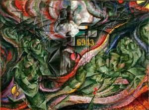 Stati d'animo serie I. Gli addii, capolavoro di Umberto Boccioni
