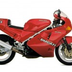 Una Ducati 851 del 1989