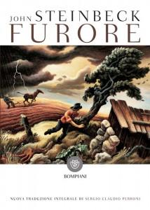 La copertina di una recente edizione di Furore di John Steinbeck