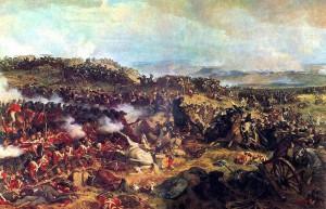 Carica dei corazzieri francesi a Waterloo di Henri Philippoteaux