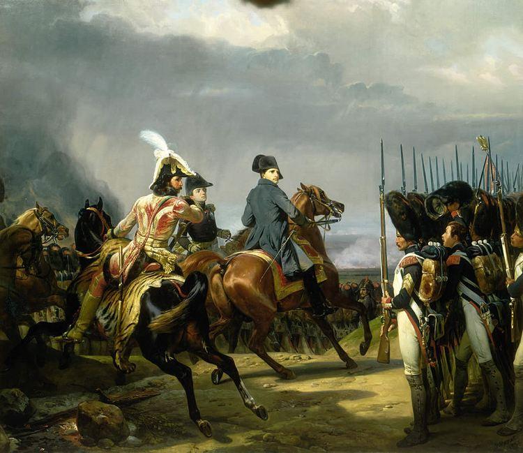 Battaglia di Jena di Horace Vernet, celebre quadro dedicato alle imprese di Napoleone Bonaparte