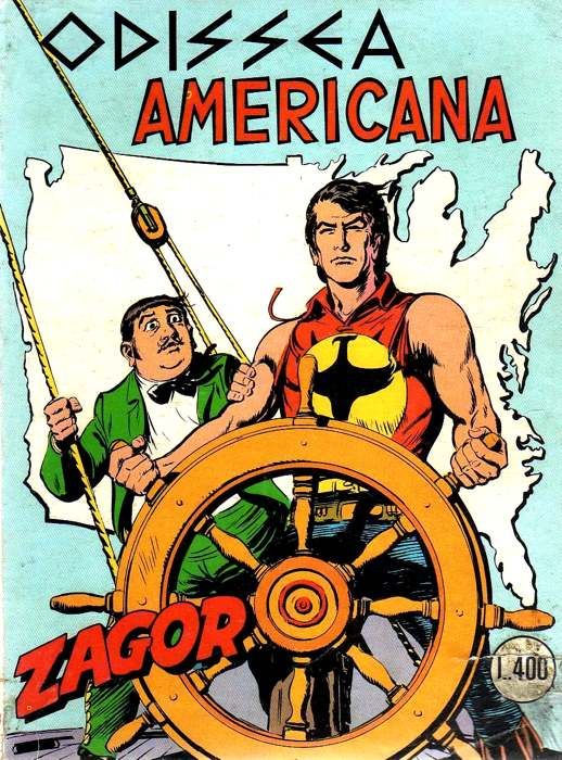 Odissea americana, una delle storie più amate dai fan di Zagor