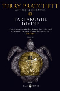 La copertina di Tartarughe divine nell'edizione Salani