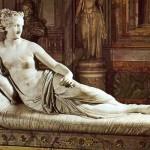 Paolina Bonaparte, opera di uno dei più famosi scultori italiani di ogni epoca, Antonio Canova