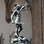 Perseo che decapita la Medusa, celebre statua di Benvenuto Cellini