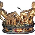 La celebre saliera per Francesco I di Benvenuto Cellini