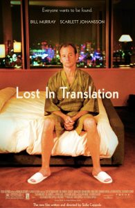 Lost in Translation, con Bill Murray e Scarlett Johansson