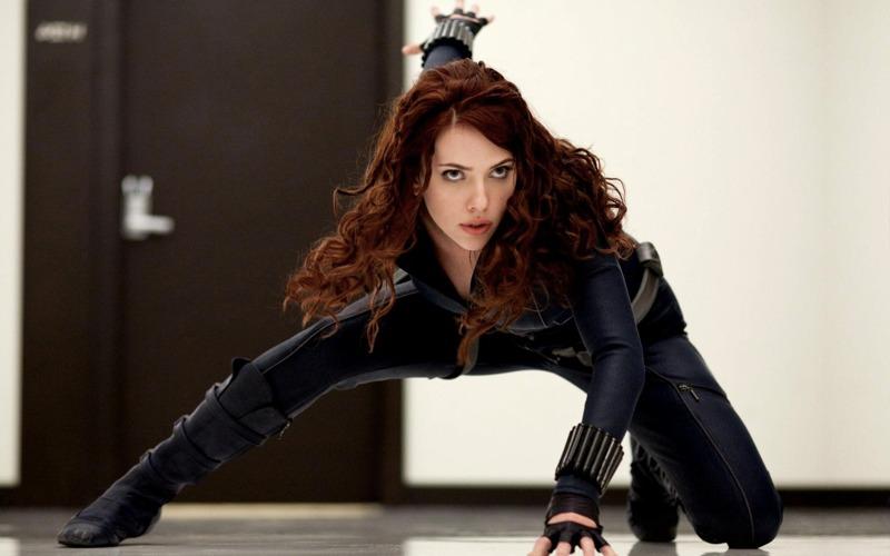 Scarlett Johansson nei panni della Vedova Nera della Marvel
