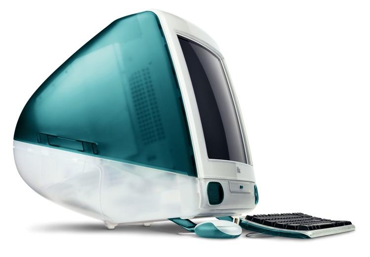 L'iMac originale, il primo di una lunga serie di computer che univano stile e performance