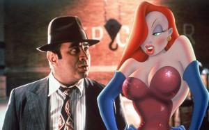 Jessica Rabbit e Bob Hoskins