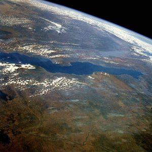 Il Lago Tanganica visto dallo spazio