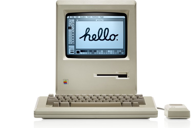 Forse la più grande innovazione di sempre di Apple, il primo Macintosh