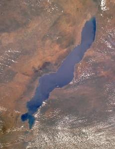 Il Lago Malawi fotografato dallo spazio