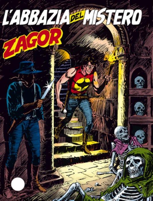 L'abbazia del mistero, storia di Zagor