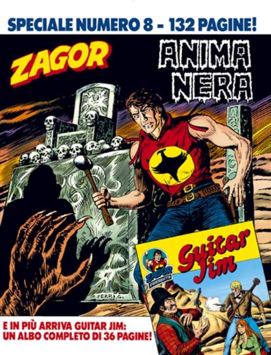 Anima nera, storia di Zagor