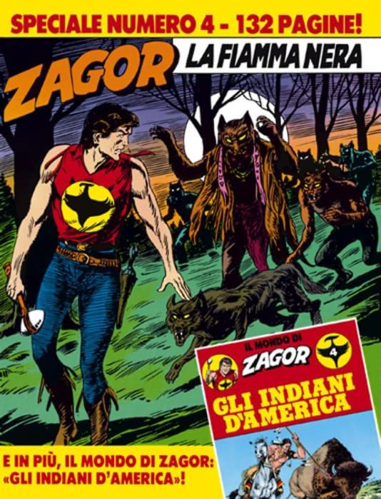 La fiamma nera, avventura di Zagor