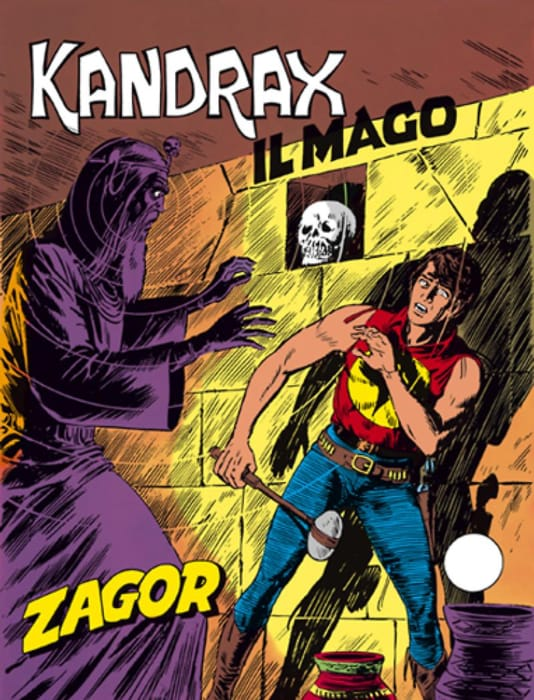 Kandrax il mago, avventura di Zagor
