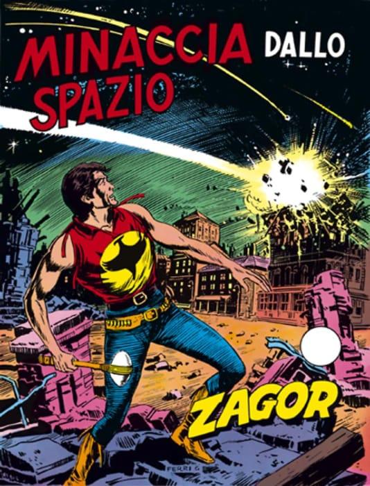 Minaccia dallo spazio, avventura di Zagor