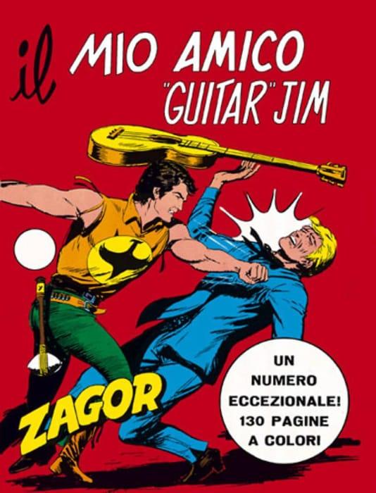 Il mio amico Guitar Jim, avventura di Zagor